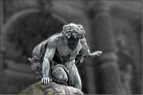 Polyphème — détail de la Fontaine Médicis