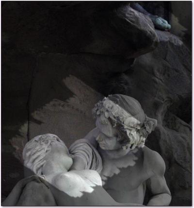 détail d'une statuaire