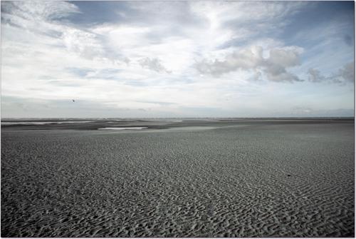 Plage du Touquet à marée basse