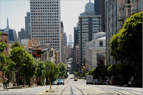 rue de San Francisco depuis le cable-car