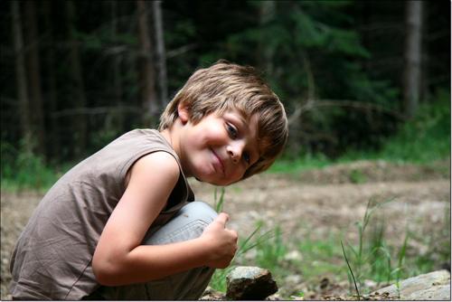 Tarquinou à la chasse aux champignons